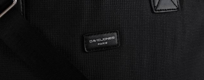 Torebka damska czarna David Jones CM5642