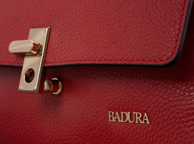 Torebka damska czerwona Badura  T_D118CR_CD