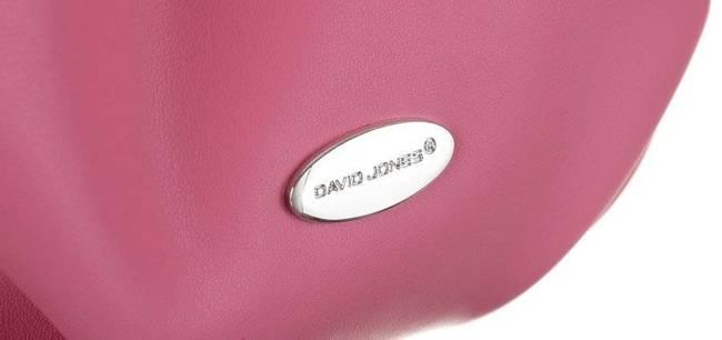 Torebka damska fuksja David Jones CM6039 FUCKSIA