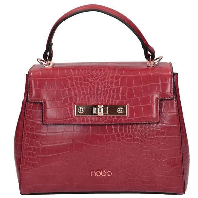 Torebka damska kuferek NOBO NBAG-J1350-C005 czerwona