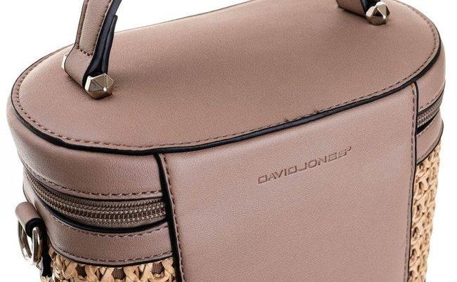 Torebka damska kuferek biały  David Jones CM5691