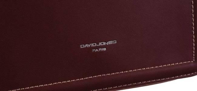 Torebka damska listonoszka brązowa David Jones CM5316