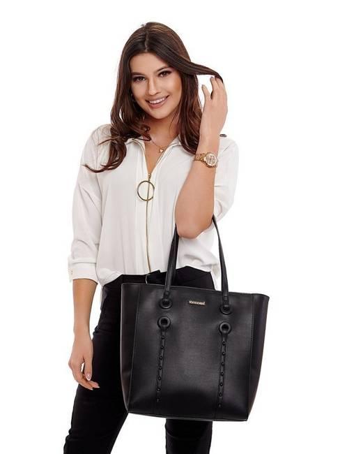 Torebka damska shopper bag Monnari 0950 róż