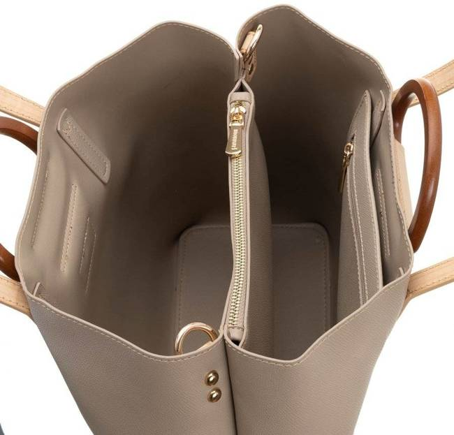 Torebka damska shopper bag Monnari 2000 brąz