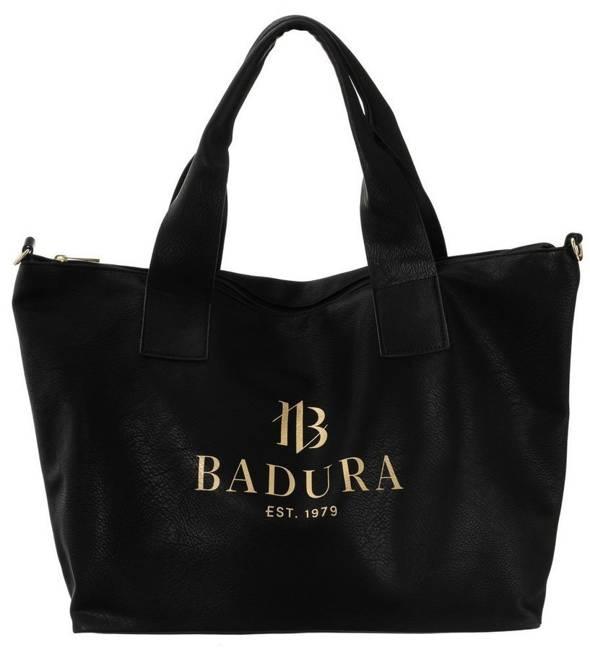 Torebka damska shopper czerń  Badura T_D140CZ_CD