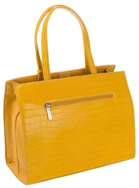 Torebka damska żółta David Jones CM5634