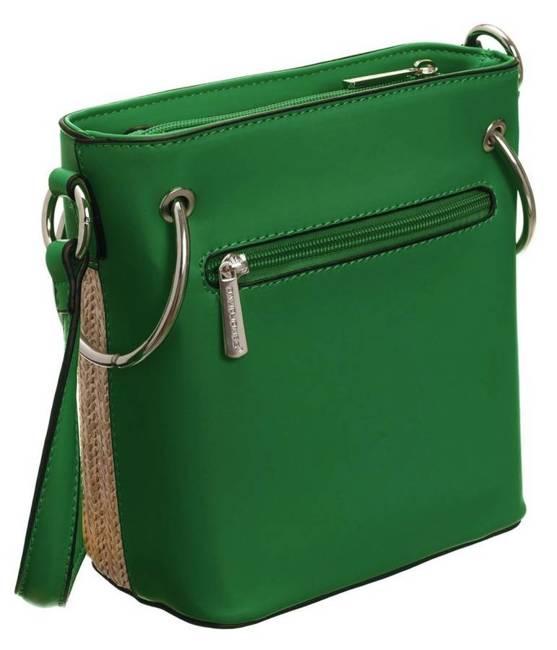 Torebka koszyk zielona David Jones CM5746 GREEN