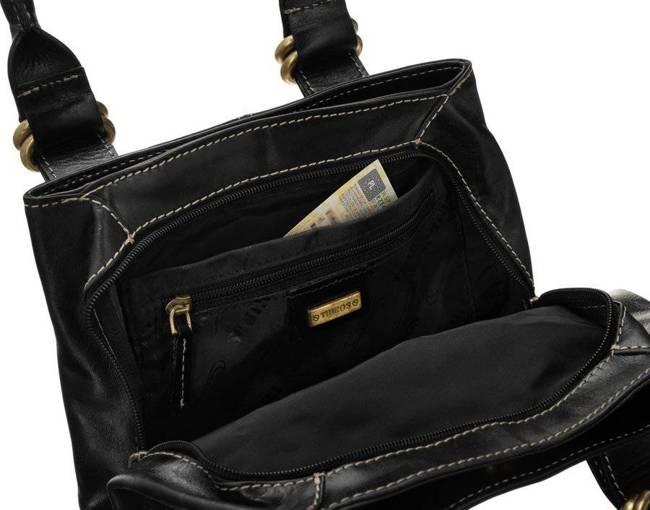 Trzykomorowy kuferek czarny 215-S BLACK