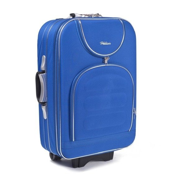 Walizka podróżna kabinowa S Milton A801 light blue