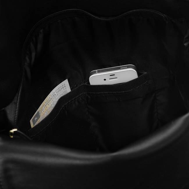 Wysoka shopperka czarna Badura T_D170CZ_CD