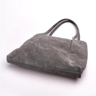 Zamszowa włoska torebka skórzana MADE IN ITALY Spalla 219