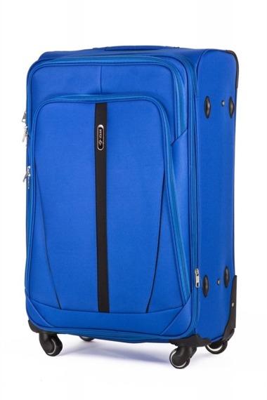 Zestaw walizek miękkich Solier STL1706 jasnoniebieski