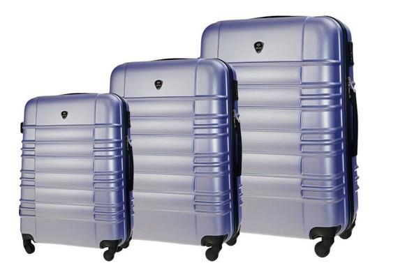 Zestaw walizek podróżnych STL838 lawendowy