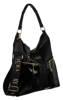 Shopperka czarna lakierowane kieszenie Badura T_D232CZ_CD