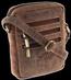 Torba skórzana na ramię Always Wild 250-MH-1794 j.brąz